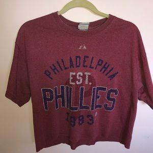 Phillies crop top